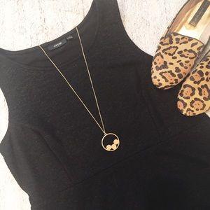 Apt 9 Shiny Little Black Dress